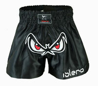 ISLERO Muay Thai Fight Kick Boxing Shorts MMA Grappling Martial Arts Gear UFC