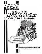 Hydra Mac Skid Loader Operator Lubrication Maintenance Manual Gas Amp Diesel