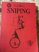 USMC SNIPING By USMC Development Education Command Staff Desert Publications