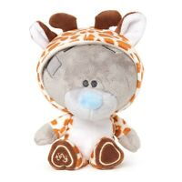 "Me to You 7"" Tiny Tatty Teddy Bear Dressed as Baby Giraffe"