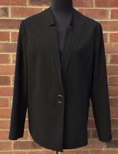 Jaeger Black Tailored Blazers Jacket For Women Size 14