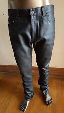 SAINT LAURENT Made in Italy WAXED JEANS -worn once - SIze 34