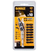 """Dewalt 10Pcs 1/4"""" Magnetic Pivot Holder Screwdriver & Bit Tip Holder Dt70518 M_o"""