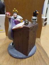 "Vintage Disney Snow White Villain Evil Queen/Witch Pvc Figurine 4"" x 3.25"""