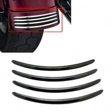 ABS Plastic Rear Fender Accents Trim For Harley Street Glides FLHX Road Glide