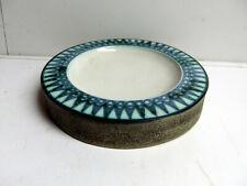 More details for troika pottery scarce round ashtray with benny sirota monogram