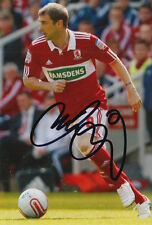 MIDDLESBROUGH Firmato a Mano Kevin THOMSON 6X4 foto 3.