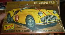 VINTAGE LINDBERG TRIUMPH TR3  MODEL CAR MOUNTAIN KIT FS 605-29 1/32