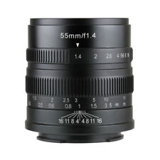 7artisans 55MM F1.4 MANUAL Fixed LENS For Sony E Mount A7, A7II, A7R,NEX,A7III