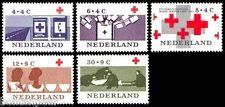NVPH 795-799 POSTFRIS 100 JAAR RODE KRUIS RED CROSS CAT.WRD. 3,80 EURO