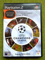 UEFA Champions League: Season 2001/2002 (Sony PlayStation 2, PAL, PS2, Complete)