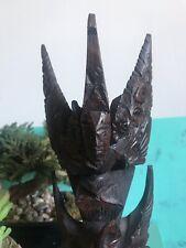 Garuda Bird Hand Carved Wooden Statue