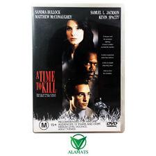 A Time To Kill (DVD) Sandra Bullock - Matthew McConaughey - Samuel Jackson Drama