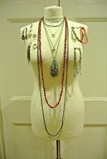 Costume Jewellery Bundle, Includes x18 items! Necklaces,Bracelets,Rings,Anklets.