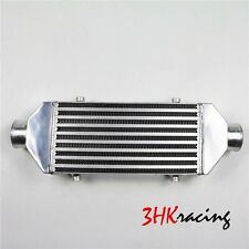 """2.5"""" Inlet & Outlet  Universal Bar&Plate Front Mount Turbo Intercooler 20x7x2.5"""
