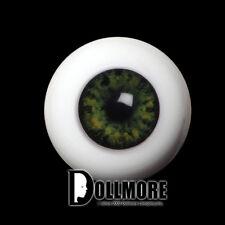 Dollmore BJD Doll Acrylic Eyes 26mm Half-Round Acrylic Eyes (Green)