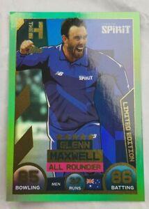 Topps Cricket attax Card Hundred Glen Maxwell London  Limited edition