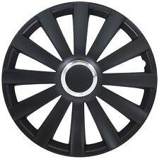 Tapacubos Tapacubos Spyder Pro Negro 13 Pulgadas Cubierta de la rueda