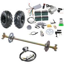 "Rear Axle Kit 740mm, Brake Assembly, 6"" Wheels, 1800w Motor kit Go Kart Quad Bik"