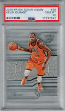 2015 Panini Clear Vision Kevin Durant PSA 10