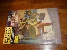 Classics Illustrated #153 (Hrn169), The Invisible Man, wells, stifff cover