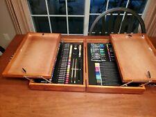 Art Studio By Battat Art Kit With Chalk Pastels Colored Pencils