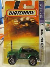 Matchbox 72 Ford Bronco Green