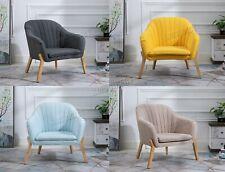 WestWood Modern Armchair Sofa Accent Single Seat Lounge Fabric Tub Chair FA02