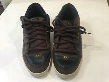Mens Globe (Mary Appleyard) Skate Shoes Sz. Us. 15. Light And Dark Brown.