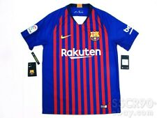 NIKE FC Barcelona 2018/19 Home Football Shirt Soccer Jersey 894430-456 M
