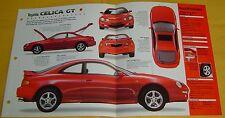 94 95 96 97 1998 Toyota Celica GT 4 Cyl EFI 2.2 Litre IMP Info/Specs/photo 15x9