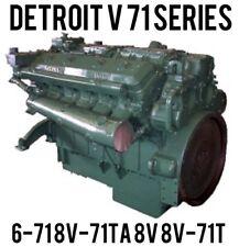 BEST Detroit Diesel Series 71 Service Manual 6V-71 8v-71TA 8v 8V-71TA 6SE193 CD