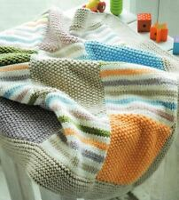 Knitting Pattern Baby's Patchwork Blanket   (63)