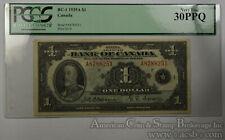 Canada $1 Dollar VF30 PPQ PCGS 1935A BC-1 Bank Canada Ottawa Small George Black