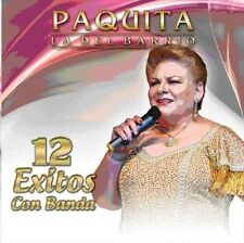PAQUITA LA DEL BARRIO - 12 EXITOS USED - VERY GOOD CD