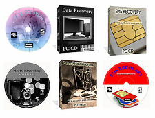 Recover Undelete Deleted Lost Music Foto Data SMS Documents Files Software PC CD