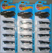 2014 Hot Wheels THE BATMAN BATMOBILE Lot of 15