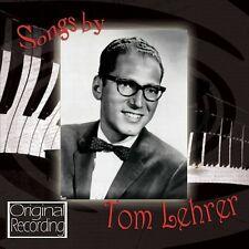 CD SONGS BY TOM LEHRER OLD DOPE PEDDLER WILD WEST WIENER SCHNITZEL WALTZ