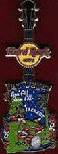 Hard Rock Cafe LAS VEGAS 2010 Core City Tee Shirt GUITAR Series PIN on Card NEW!