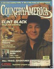 Clint Black Covers Country America Magazine 1990