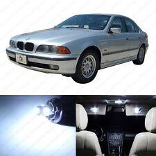 18 x White LED Interior Light Package For 1996 -2003 BMW 5 Series M5 E39