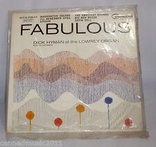 Dick Hyman & Orchestra: Fabulous [at Lowrey Organ]  [Jukebox release- Unplayed]