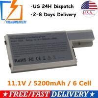 Laptop Battery for Dell Latitude D531 D531N D820 D830 TC030 CF623 DF192 XD73 US
