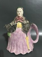 VINTAGE LITTLE OLD LADY TEAPOT REG.NO.827653