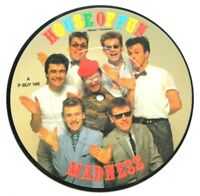 """EX/EX! Madness House Of Fun 7"""" VINYL 45 Picture Pic Disc Ska 2 tone Two"""