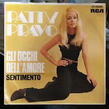 7' Patty Pravo > Gli Occhi dell 'amore/SENTIMENTO < RCA GERMANY
