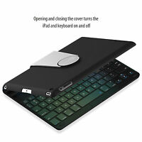 JETech 2010 Wireless Bluetooth iPad Keyboard Case Cover For Apple iPad 2 3 4