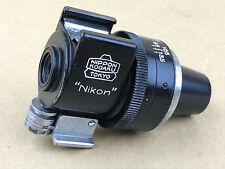 Nikon RF BLACK Variframe Finder #543682 Nippon Kogaku Tokyo - Rare