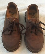 Dr Martens DOC Boy/Kid 12 Brown Leather Dress Shoe Air Cushion