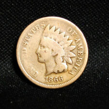 1866 INDIAN HEAD PENNY GOOD DETAILS